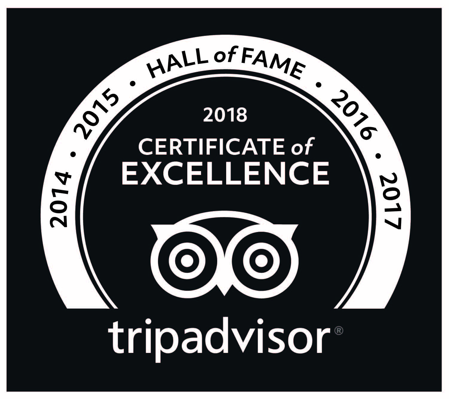 Barcelona Photography Tours receives the 2018 TripAdvisor certificate of excellence award.