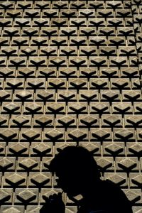 Barcelona photography tour. Repetions in photographic compositions